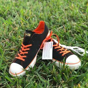 89d7d5e0be4d Converse Shoes - NWT Converse CT All Ox Black Orange M AUTHENTIC